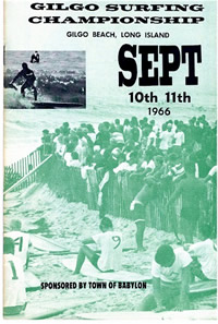 1966 Gilgo Beach Surfing Championships. East Coast Surfing History